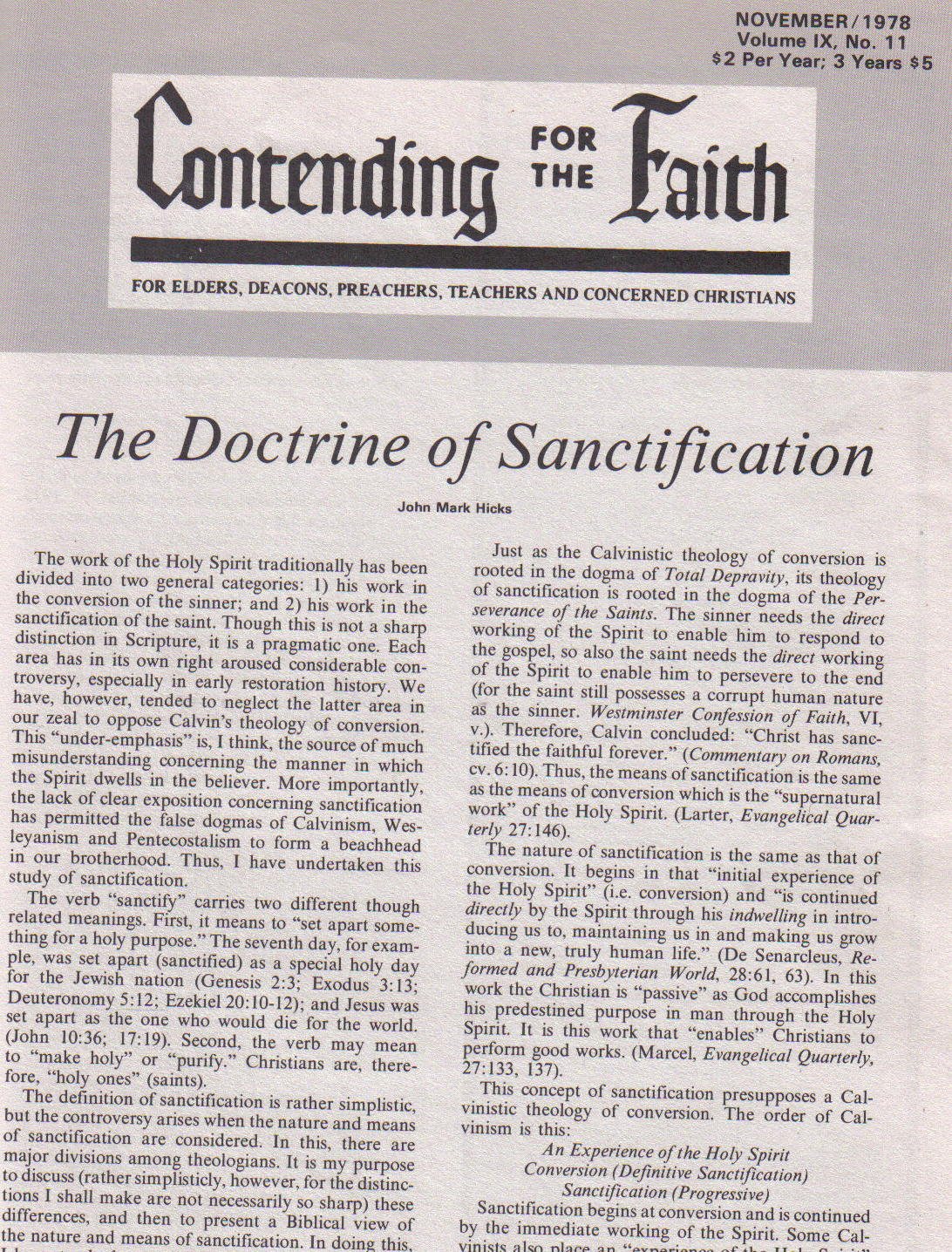 contending-for-the-faith